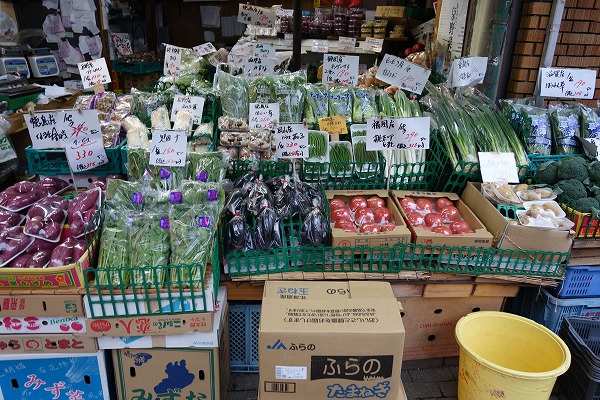 Taishogun Shopping Street Fruit and vegetables Sakurai-ya
