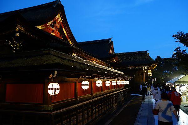 北野天満宮 京の七夕ライトアップ